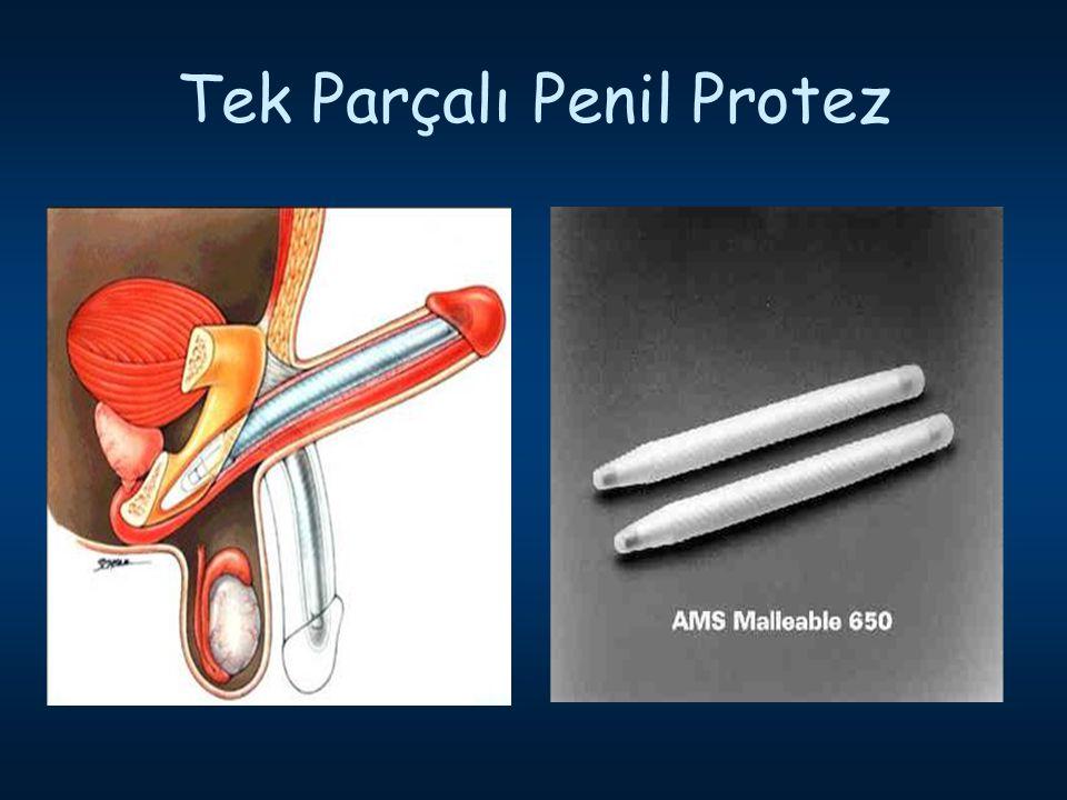 Tek Parçalı Penil Protez