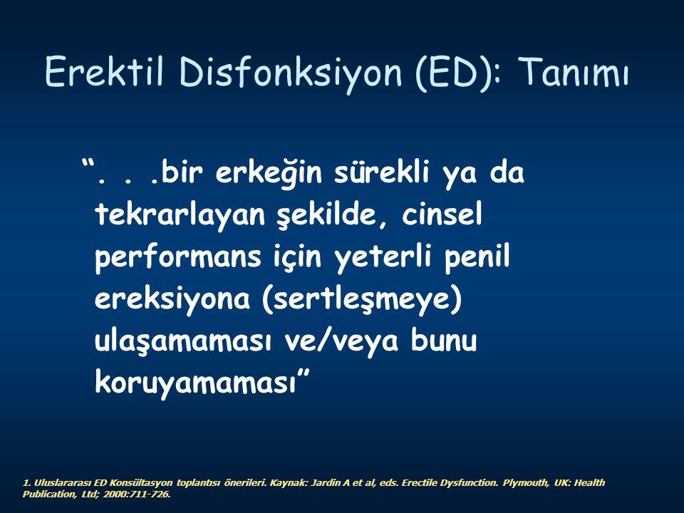Erektil Disfonksiyon (ED): Tanımı