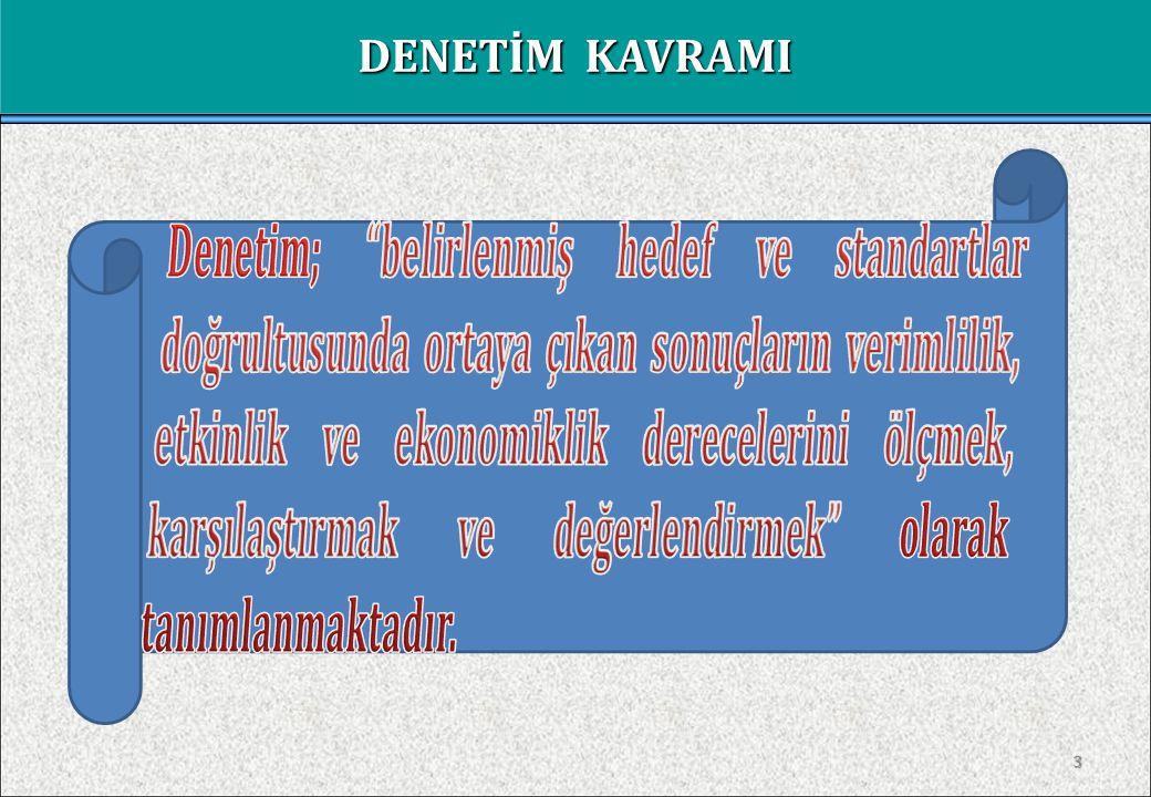 DENETİM KAVRAMI