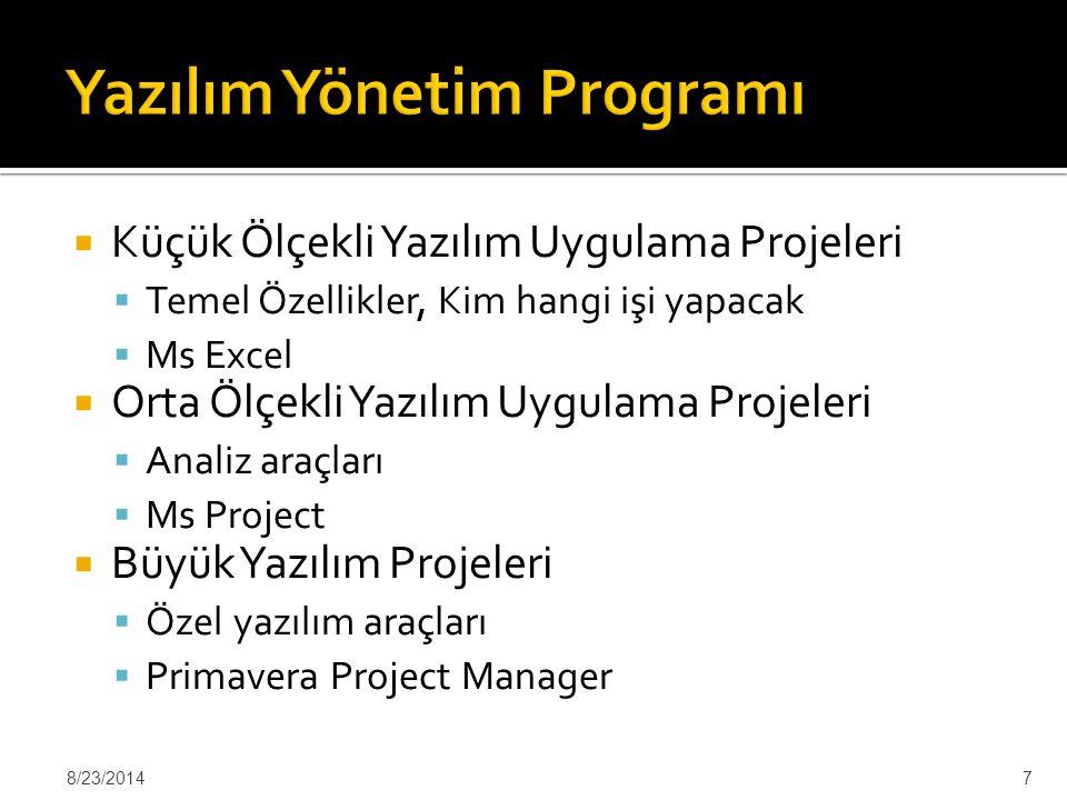 Yazılım Yönetim Programı