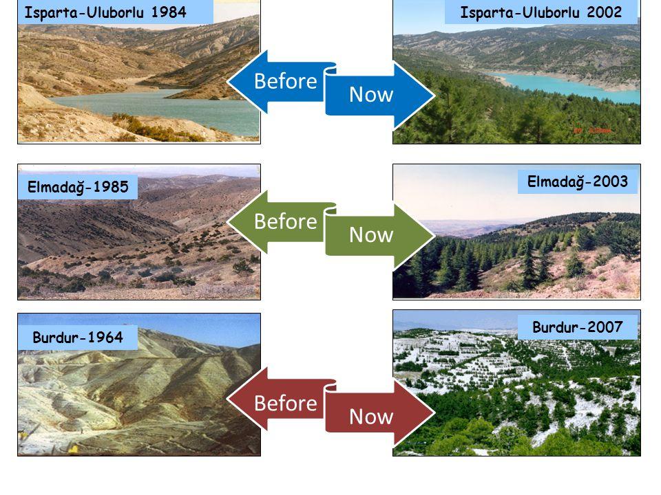 Before Now Before Now Before Now Isparta-Uluborlu 1984