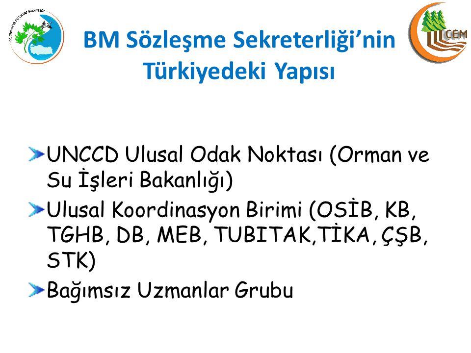 BM Sözleşme Sekreterliği'nin Türkiyedeki Yapısı