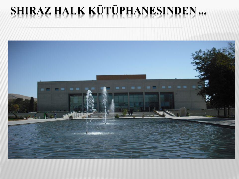 Shiraz halk kütüphanesinden ...