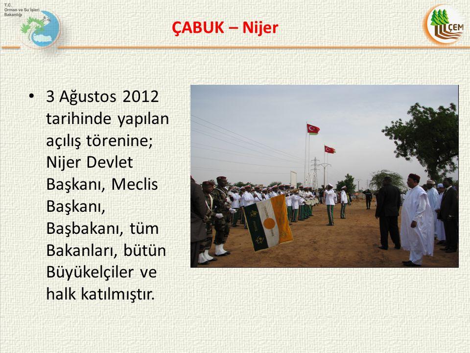 ÇABUK – Nijer