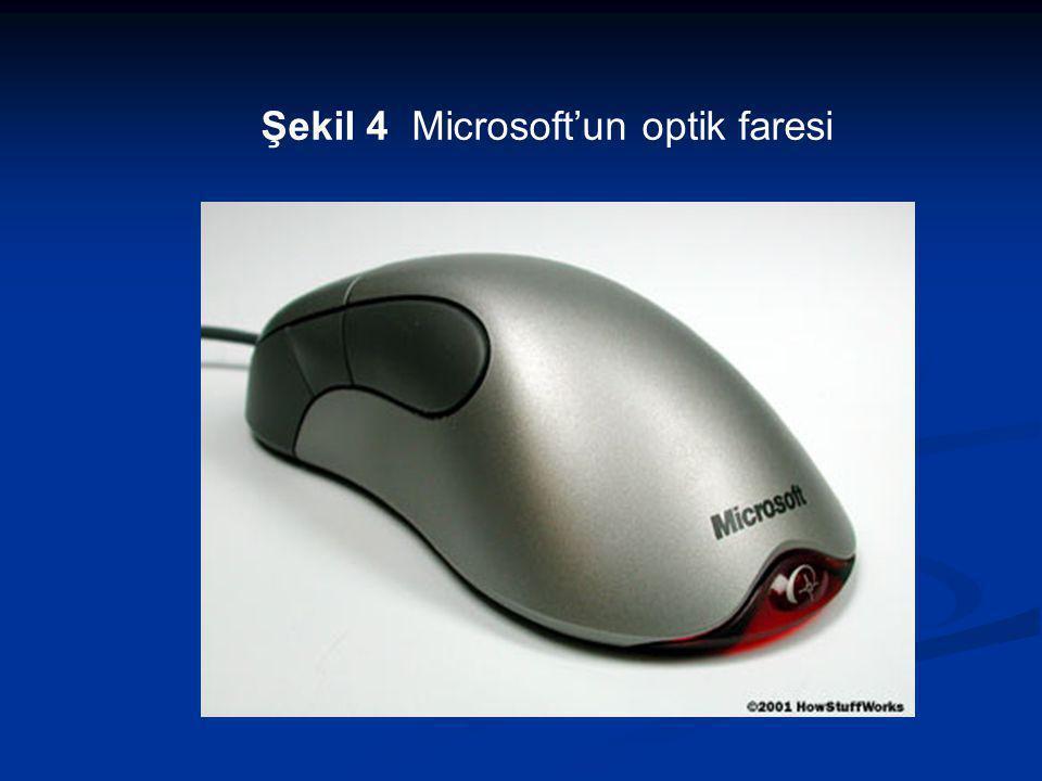 Şekil 4 Microsoft'un optik faresi