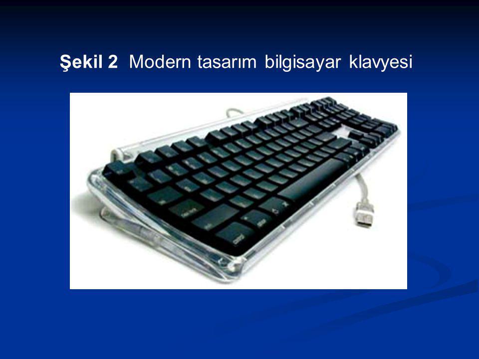 Şekil 2 Modern tasarım bilgisayar klavyesi