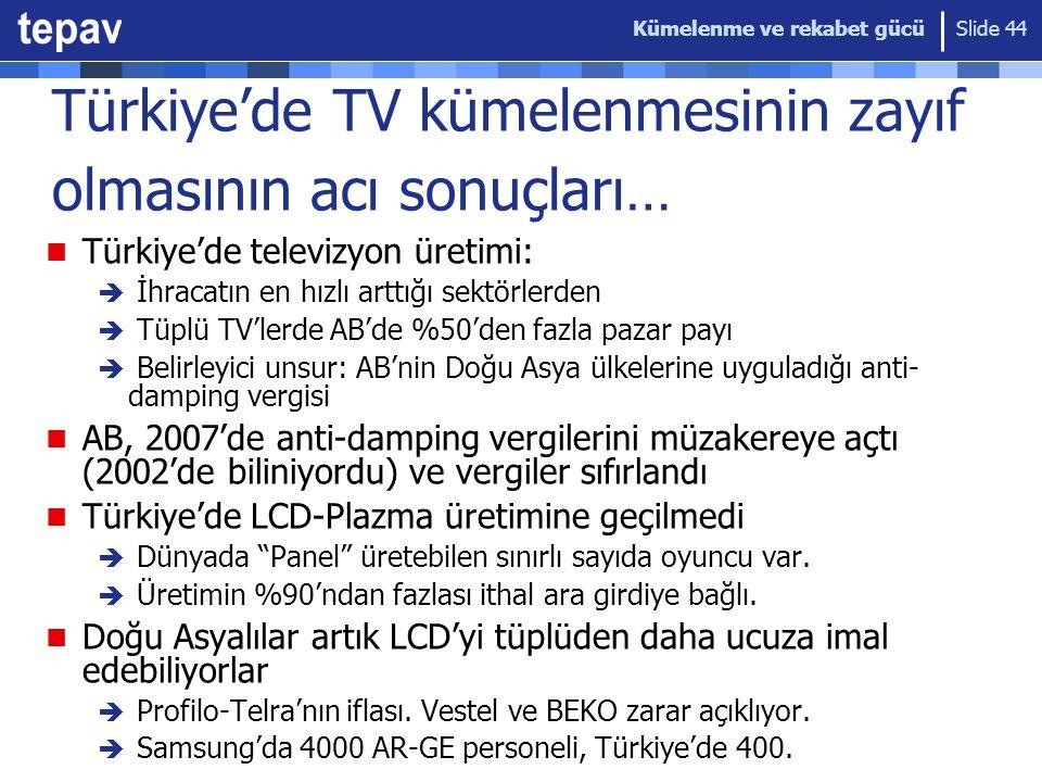 Türkiye'de TV kümelenmesinin zayıf olmasının acı sonuçları…