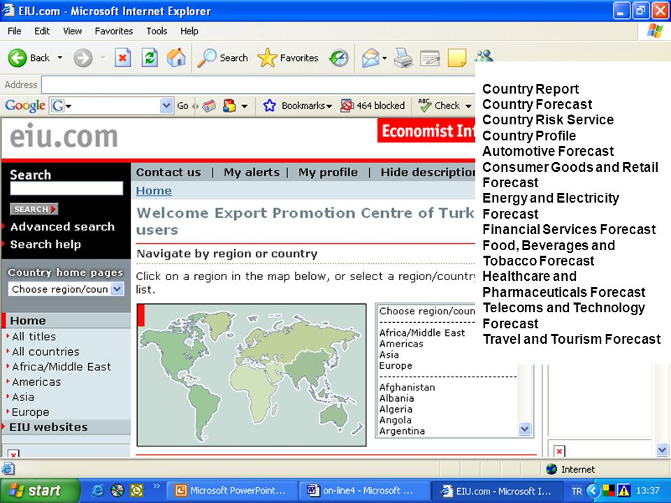 Country Report Country Forecast. Country Risk Service. Country Profile. Automotive Forecast. Consumer Goods and Retail Forecast.