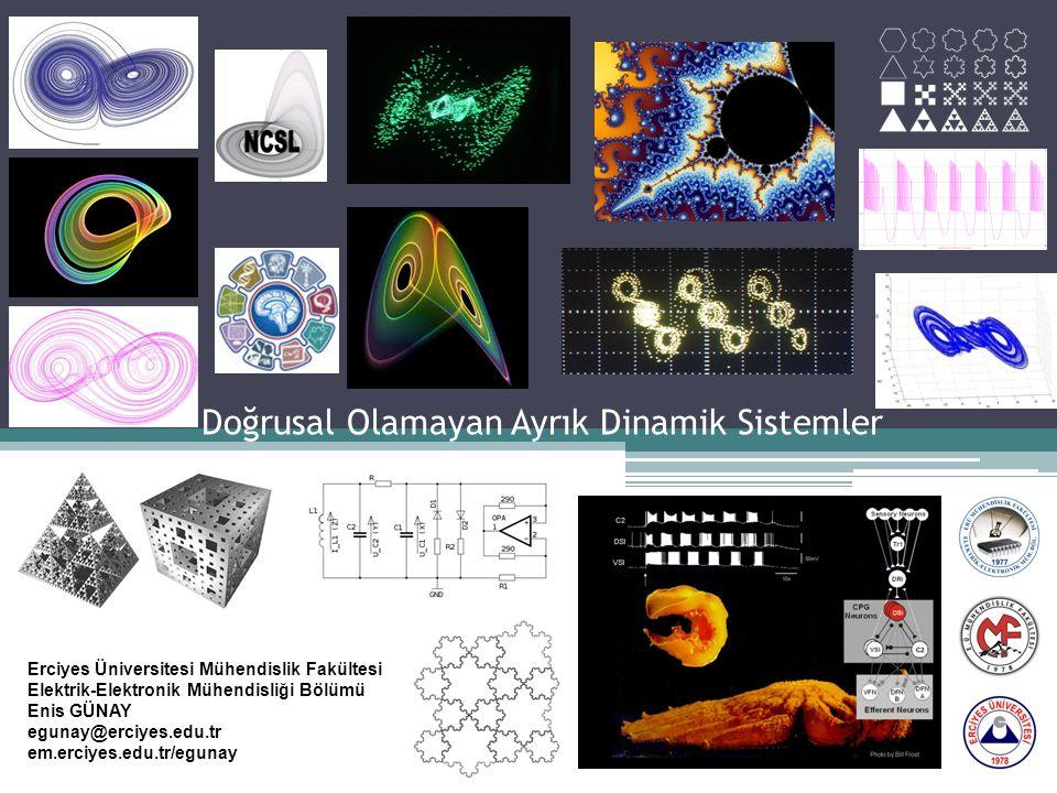 Doğrusal Olamayan Ayrık Dinamik Sistemler