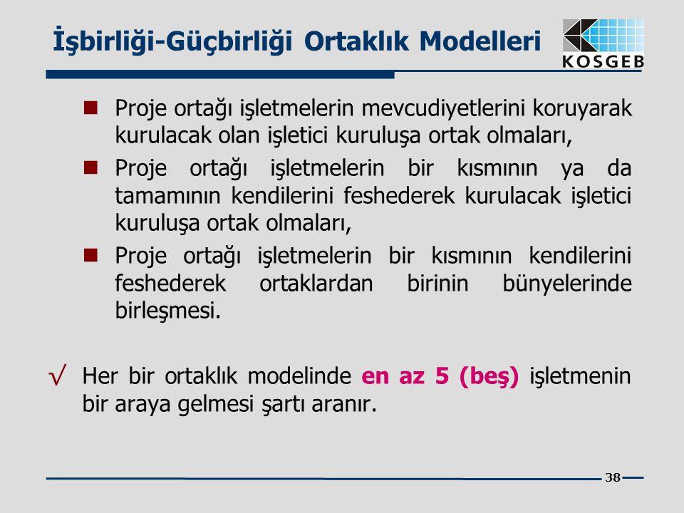 İşbirliği-Güçbirliği Ortaklık Modelleri