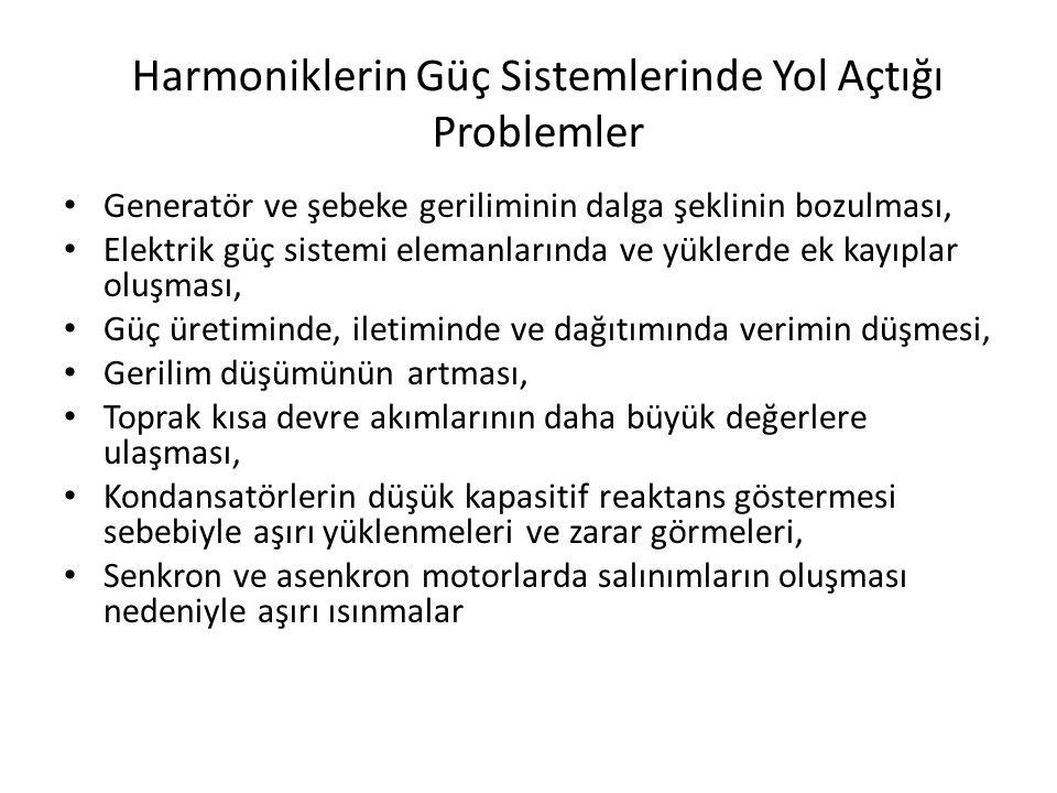 Harmoniklerin Güç Sistemlerinde Yol Açtığı Problemler