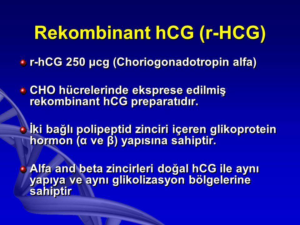 Rekombinant hCG (r-HCG)