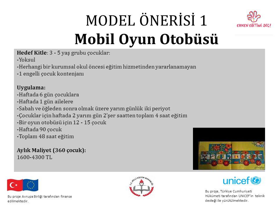 MODEL ÖNERİSİ 1 Mobil Oyun Otobüsü