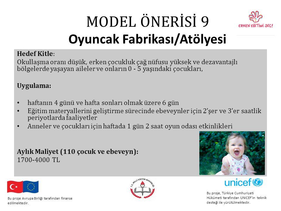 MODEL ÖNERİSİ 9 Oyuncak Fabrikası/Atölyesi