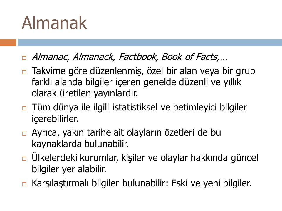 Almanak Almanac, Almanack, Factbook, Book of Facts,…