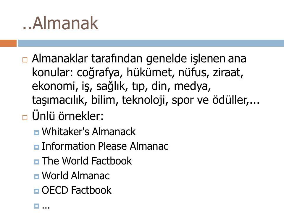 ..Almanak
