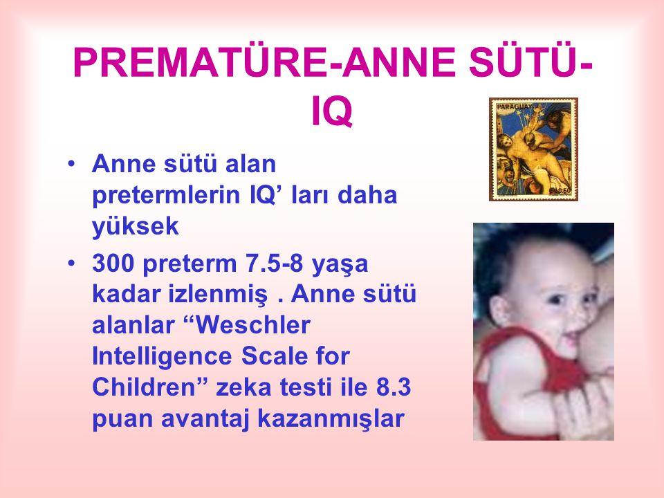PREMATÜRE-ANNE SÜTÜ-IQ