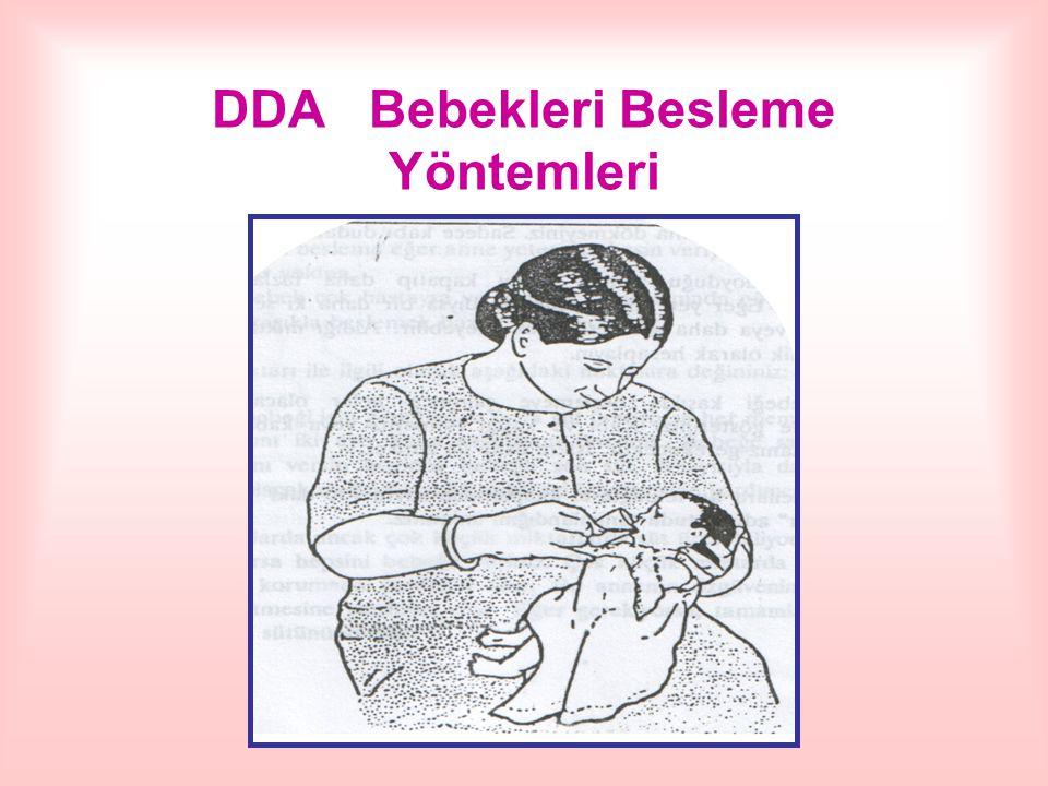 DDA Bebekleri Besleme Yöntemleri