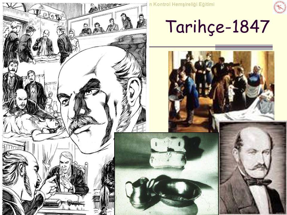 Tarihçe-1847 Eski zamanlardan beri kişisel hijyen göstergesi olan elhijyeninin, hastalık yayılımındaki rolü son 200 yıldır bilinmektedir.