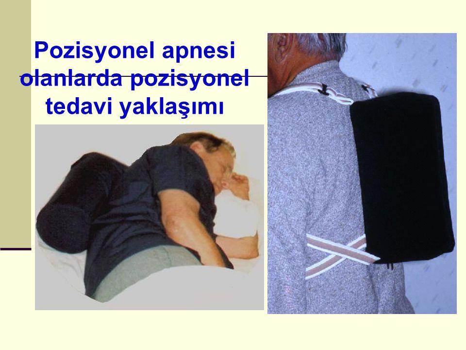 Pozisyonel apnesi olanlarda pozisyonel tedavi yaklaşımı