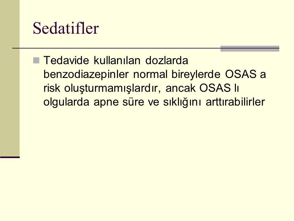 Sedatifler