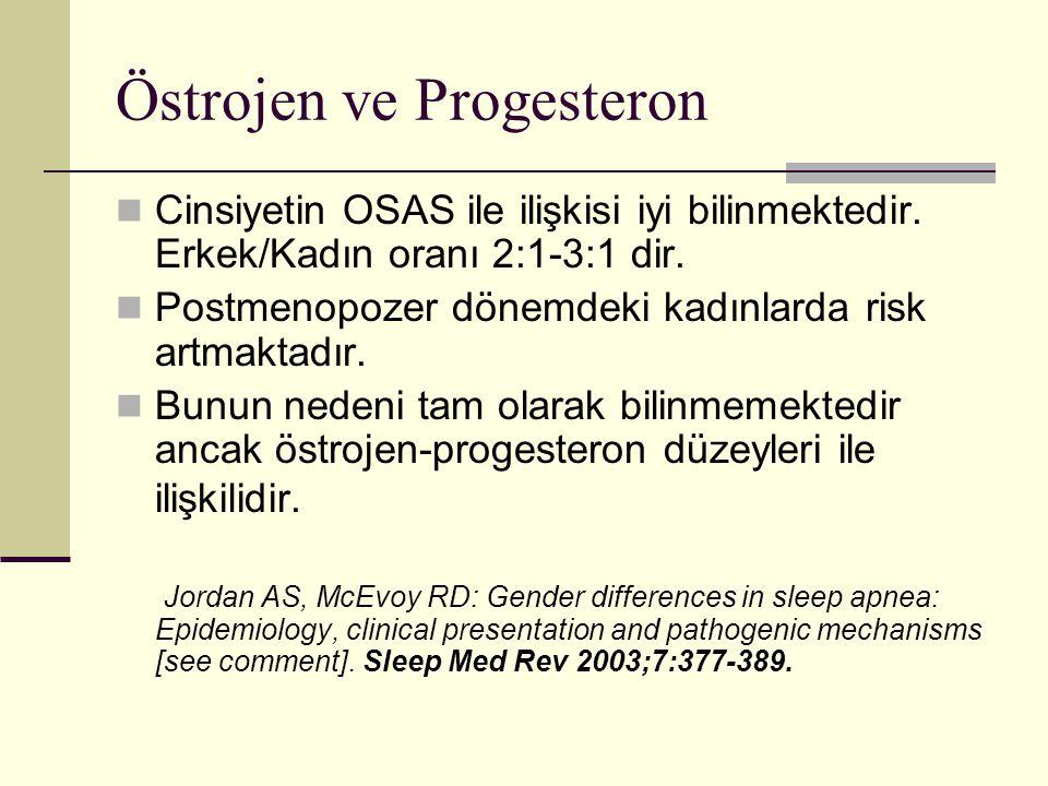 Östrojen ve Progesteron