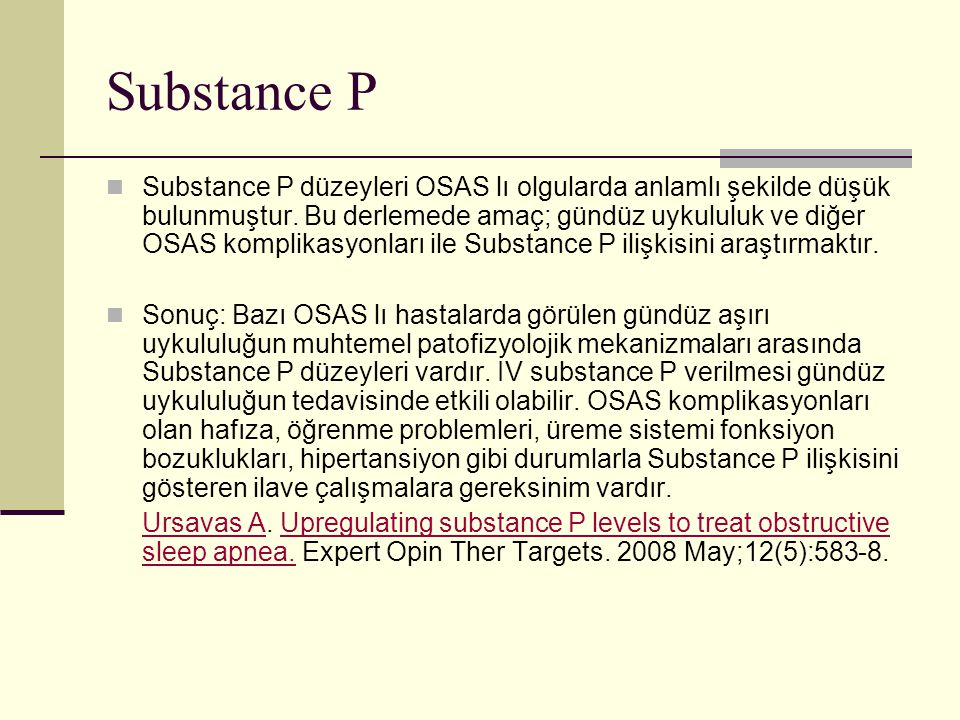 Substance P