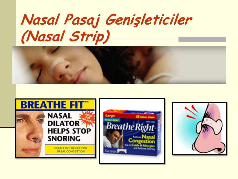 Nasal Pasaj Genişleticiler (Nasal Strip)