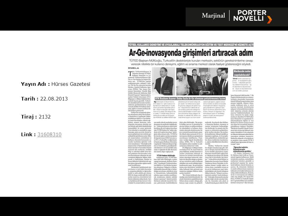 Yayın Adı : Hürses Gazetesi