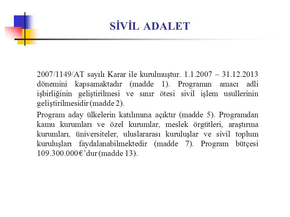 SİVİL ADALET