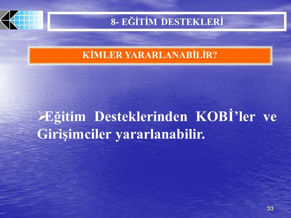 KİMLER YARARLANABİLİR