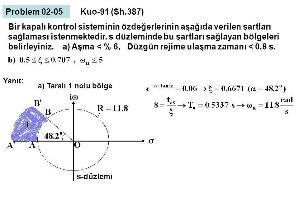 Problem 02-05 Kuo-91 (Sh.387)