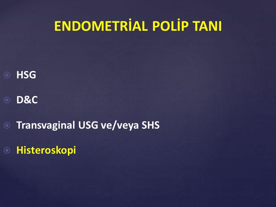 ENDOMETRİAL POLİP TANI