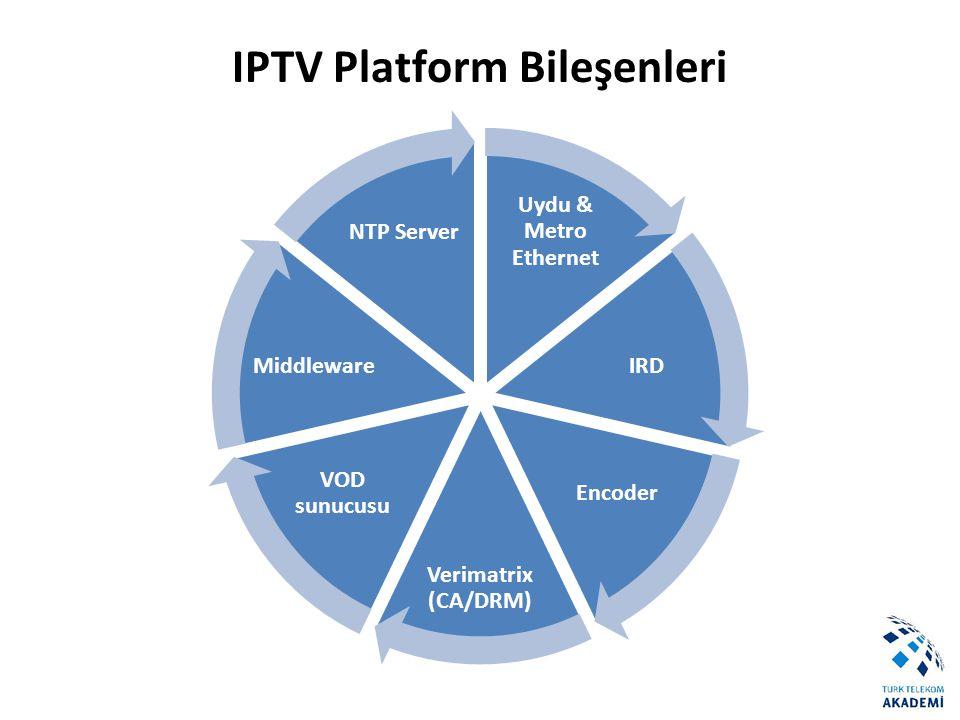 IPTV Platform Bileşenleri