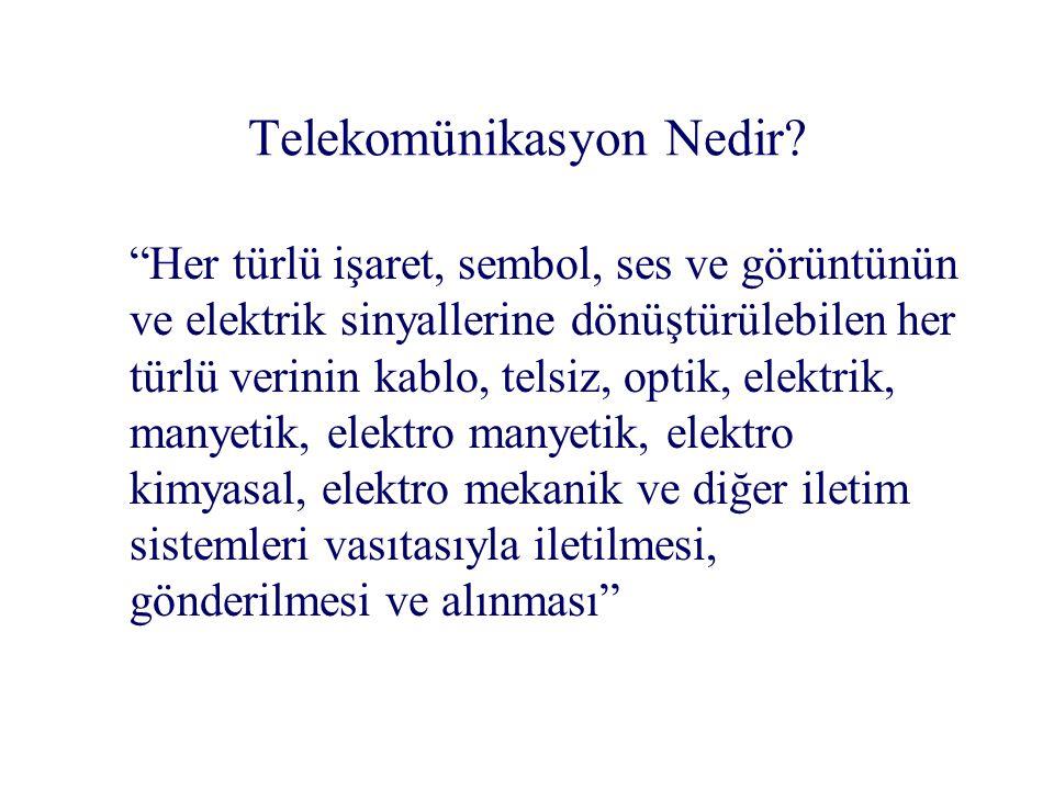 Telekomünikasyon Nedir