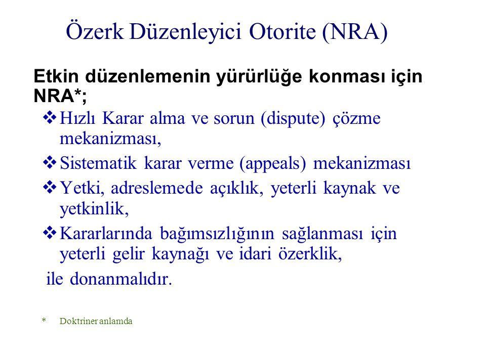 Özerk Düzenleyici Otorite (NRA)