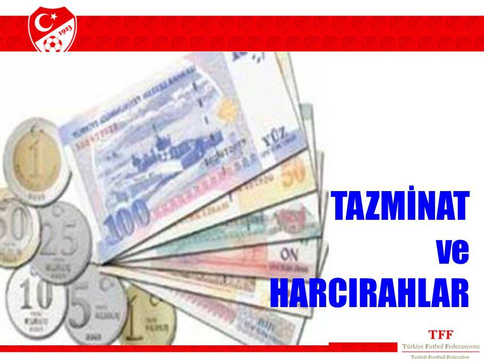 TAZMİNAT ve HARCIRAHLAR 33