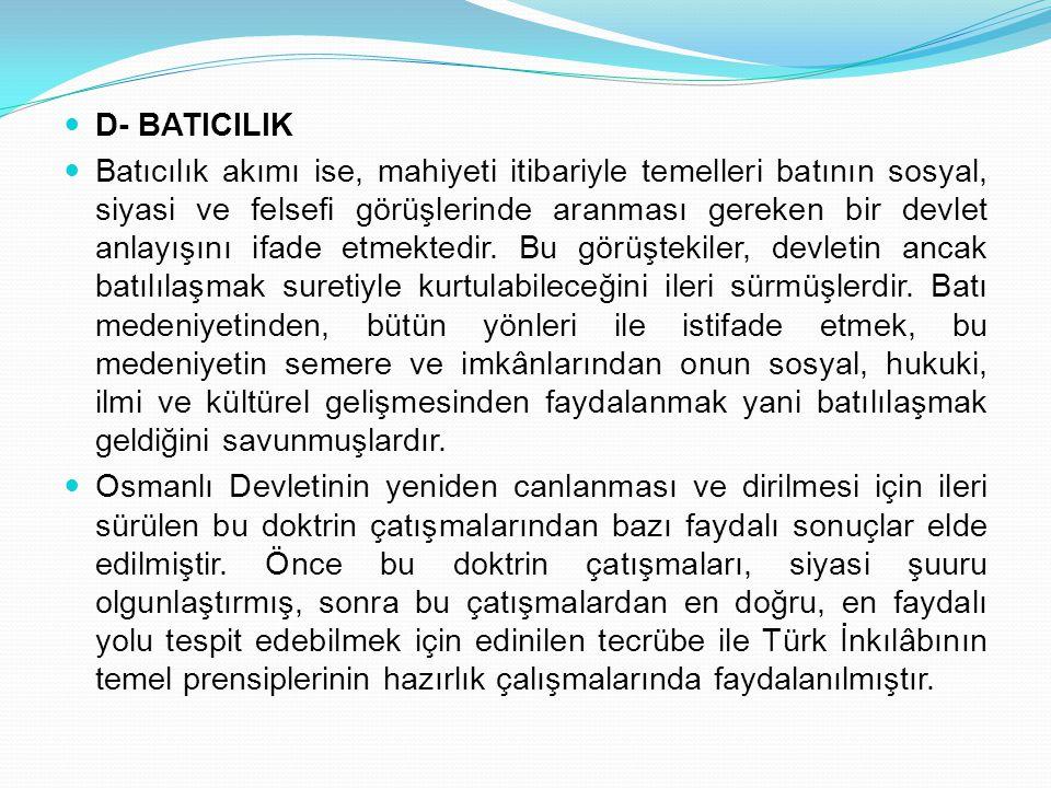 D- BATICILIK