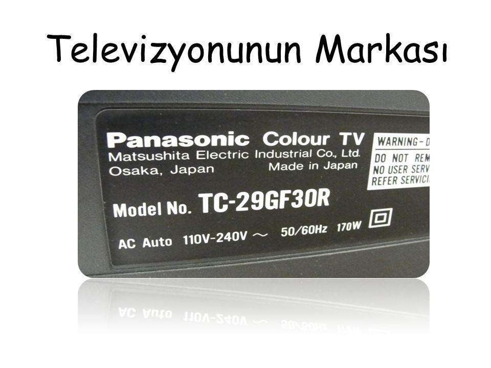 Televizyonunun Markası