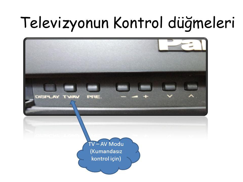 Televizyonun Kontrol düğmeleri