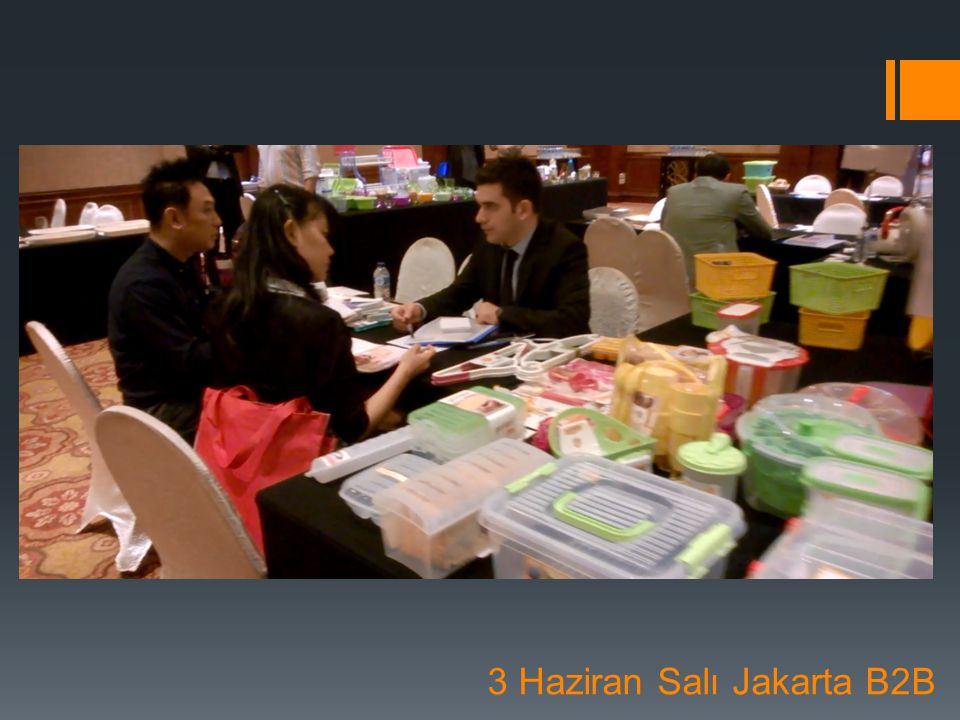 3 Haziran Salı Jakarta B2B