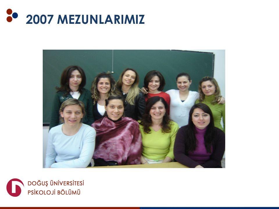 2007 MEZUNLARIMIZ
