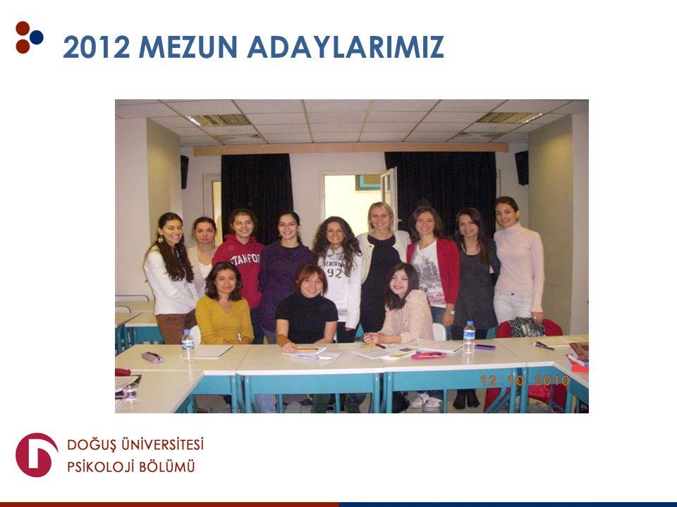 2012 MEZUN ADAYLARIMIZ