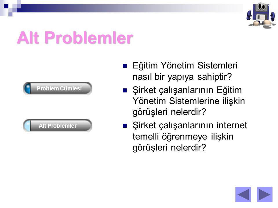Alt Problemler Eğitim Yönetim Sistemleri nasıl bir yapıya sahiptir