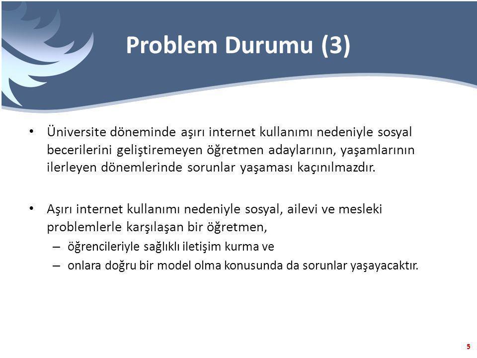 Problem Durumu (3)