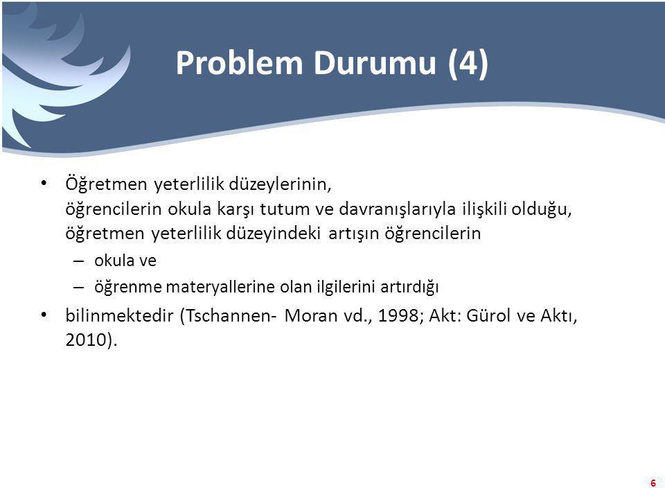 Problem Durumu (4)