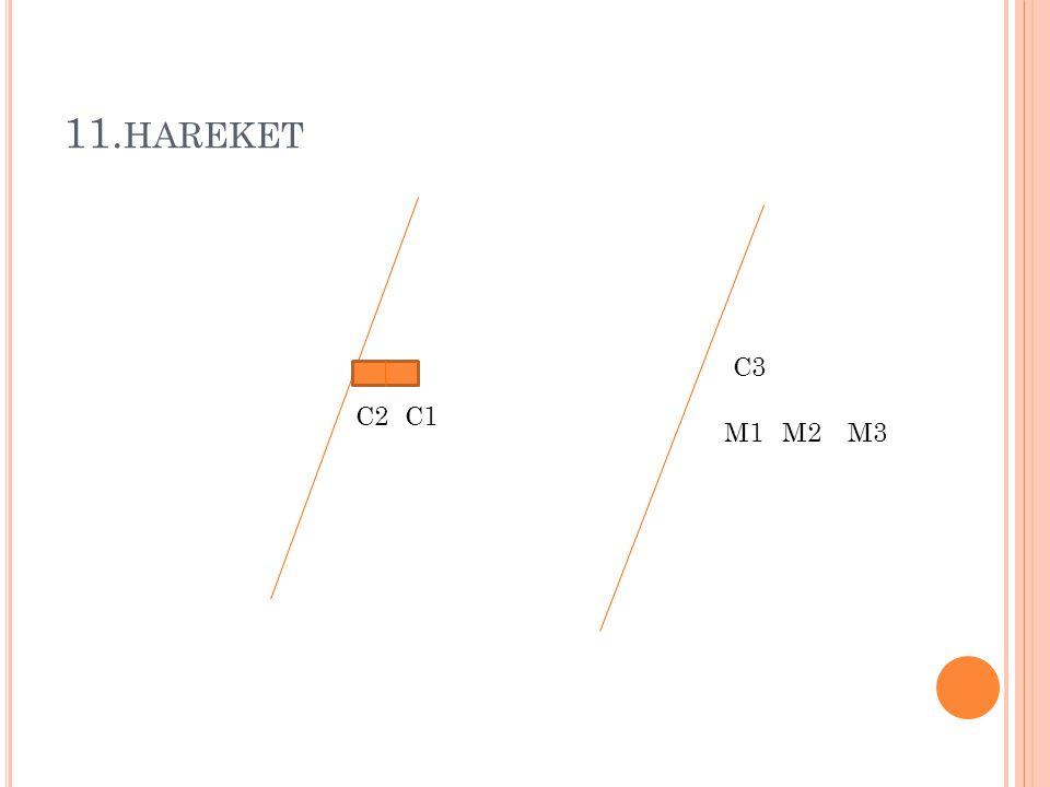 11.hareket C3 C2 C1 M1 M2 M3