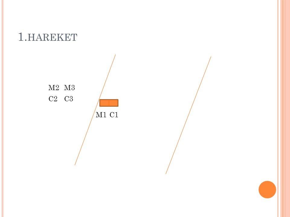 1.hareket M2 M3 C2 C3 M1 C1