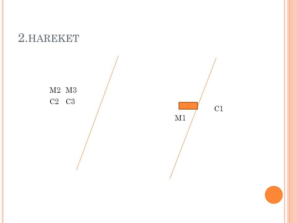 2.hareket M2 M3 C2 C3 C1 M1
