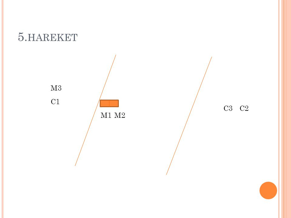 5.hareket M3 C1 C3 C2 M1 M2